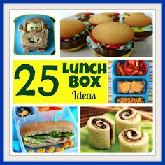 Six Sisters' Stuff: 25 Fun Lunch Boxes Ideas