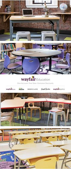 Ace classroom and administrative upgrades with Wayfair Education. We offer top picks from daycare to university, all at competitive pricing. As a valued member, you'll receive personalized service from a representative who knows your industry inside and out. Join FREE today to receive exclusive discounts!