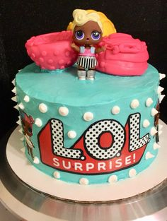 LOL Surprise Doll Birthday Cake