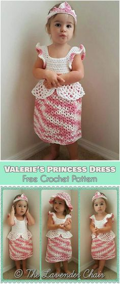 Free Baby Dress Crochet Patterns I Crochet Pinterest