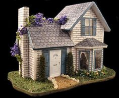 144th scale house.  The bay window was a pita to make.