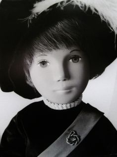 Promotional poster of Prince Gregor doll on display at the 2012 Sasha Festival, Stratford-upon-Avon, England, United Kingdom, 2012, photograph by Kendal Hackney. This poster was made as a display piece for the 1985 International Toy Fair in New York City, and I was inordinately lucky to buy one last year from the daughter of a man who represented Trendon and Sasha Dolls Limited in the United States who had saved an uncut original, which now hangs framed above my collection of Gregor dolls.