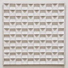 "@Paul Brouns's photo: ""Jan van Schoonhoven (1914-1994) has always been an inspiring artist to me. His white reliefs are in essence minimal, but never entirely anonimous. Touched by the light you always notice traces of personal interaction and handling. This adds a very delicate charm that is present throughout his marvelous work. I was delighted to see this little masterpiece in Amsterdam this week."""