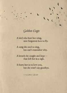 golden cage lang leav poem quotes lyric quotes words quotes sayings