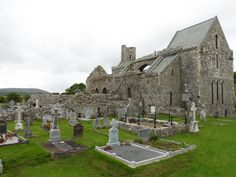 Corcomroe Abbey, The Burren, Ireland