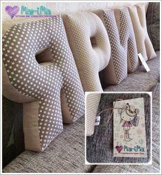 Текстильные: буквы - подушки, аксессуары и игрушки: Для Ярика