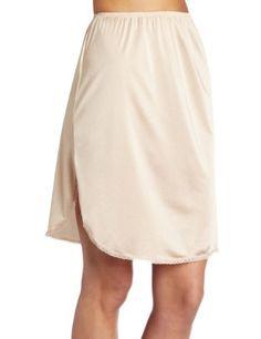 Vanity Fair Women's Half Slip with Slit Vanity Fair. $9.75. Style 11760 sizes Small, Medium, Large, style 11860 sizes X-Large, 2X-Large, 3X-Large. Non-cling fabric. Machine Wash. 100% Nylon