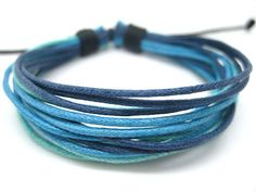 Adjustable Cuff  Bracelet  Made of Ropes 356S by beautiful365, $3.50