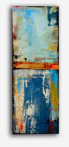 Original Painting on Wood by erinashleyart on Etsy, $400.00