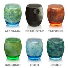 Glasswares for all star wars fans!