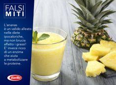 L'ananas è un valido alleato nelle diete ipocaloriche, ma non brucia affatto i grassi! E' invece ricco di un enzima che aiuta a metabolizzare le proteine.