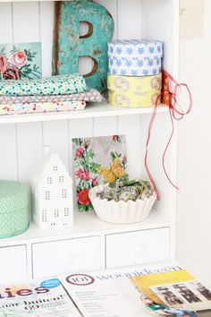 Sewing room organization inspiration