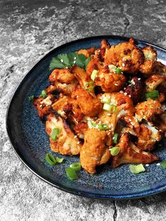 Miso Garlic Roasted Cauliflower - Umami bombs @theindigokitchen ⚡️