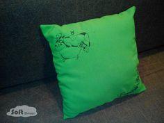 декоративна подушка знак зодіаку - телець