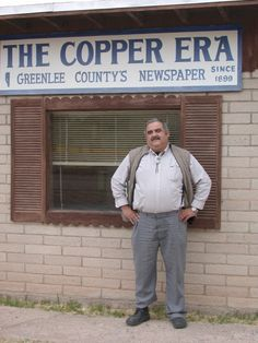 Walter Mares, Clifton Copper Era editor clifton az