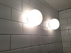 It is getting there. Slowly. Half tiles from Byggfabriken and Mini Glo-ball from Flos.