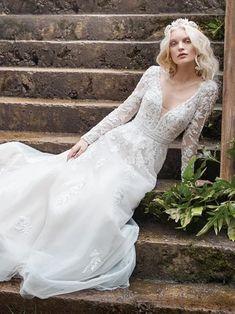 New Arrivals | Maggie Sottero New Arrivals Perfect Wedding Dress, Boho Wedding Dress, Dream Wedding Dresses, Designer Wedding Dresses, Wedding Gowns, Lace Wedding, Wedding Happy, Mermaid Wedding, Wedding Bells