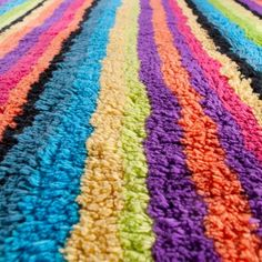 Rainbow Luxury Bath Rug Fantastically soft and highly absorbent, it makes the daily routine a pleasure.