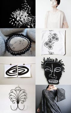 black and white by Valeria Kondor on Etsy--Pinned with TreasuryPin.com