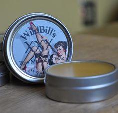 Wild Bill's XXX Brand Fine Mustache Wax Stiff by wildbillsmustache, $12.00
