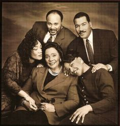 Corretta Scott King and her children                                                   i love this photo.                                                     your artist;                                                                            Mary A.