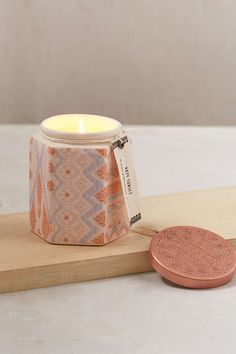 Solstice Ceramic Candle - Urban Outfitters