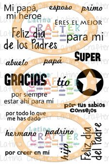 Frases en Español (4 x 6) - Latina Crafter