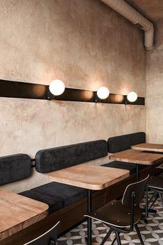 The Break Room. - The Break Room. Lounge Design, Cafe Design, Design Design, Bistro Design, Design Color, Restaurant Interior Design, Shop Interior Design, Coffee Cafe Interior, Brewery Interior