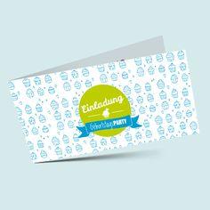 Süße Einladungskarten zum Geburtstag mit Muffin-Design für Klein aber natürlich auch für Groß. Jetzt Geburtstagseinladung online selbst gestalten und bei und drucken lassen. Die Geburtstagseinladungskarten werden in wenigen Tagen geliefert.