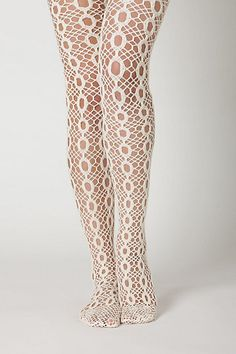 groooooovy tights!! They look like something That Girl would wear. If you don't know who that is, then you missed out on a groovy generation!