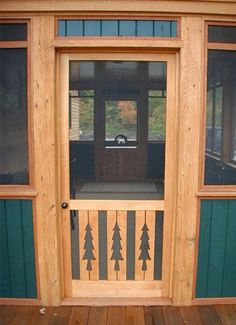 Rustic Screen Amp Storm Doors Featuring Your Favorite Nature