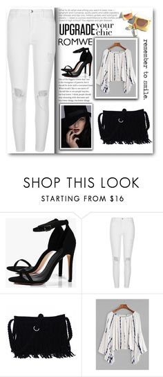 """""""romwe"""" by sabine-rose ❤ liked on Polyvore featuring Boohoo, River Island and Tom Ford"""