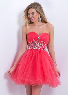$84--sparkly short homecoming dresses 2014,sweet 16 dresses,short prom dress,cocktail dresses,Blush 9860