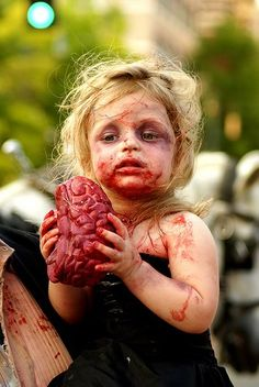 A Girl with Brain #zombie costume