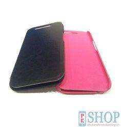 Bao da HTC M8 one 2 cao cấp hiệu Boso - chất liệu da tốt, các chi tiết được thiết kế tinh xảo và tương thích 100% với HTC One M8, giữ chặt điện thoại, bảo vệ tốt hơn