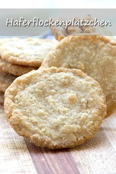 Oats Recipes, Baking Recipes, Cookie Recipes, Raisin Cookies, Oatmeal Chocolate Chip Cookies, Breakfast On The Go, Köstliche Desserts, Cookies And Cream, Cupcake Cookies