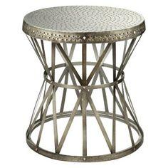 Drum Table on Hayneedle - Barrel End Table
