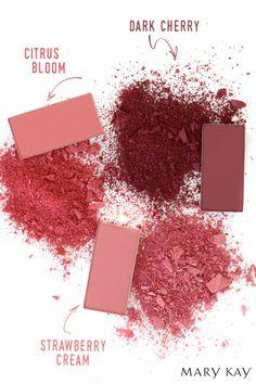 Blush Mineral - Fórmula Mineral e cores versáteis e resistentes, que ficam bem em qualquer tom de pele.