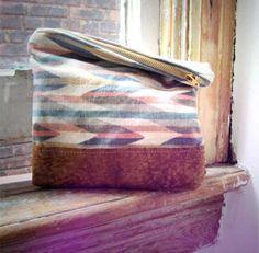 Clutch/Makeup bag.