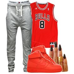 A fashion look from June 2014 featuring Jack & Jones activewear pants. Browse and shop related looks.
