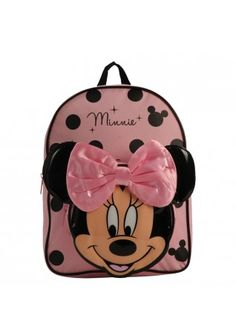 Minnie Mouse Backpack Pink