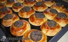 Pozsonyi szemek recept fotóval Hungarian Recipes, Griddle Pan, No Bake Cake, Fudge, Doughnut, Muffin, Artisan, Baking, Breakfast