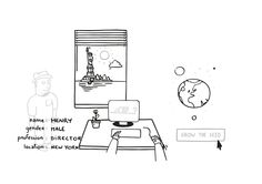 Extract from the Video Animation : Showing the scenario in the USA with Henry.