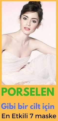 Cildinizin porselen gibi pürüzsüz ve beyaz olmasını istiyorsanız bu maskeler sizi kendinizden geçirecek!