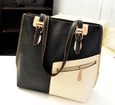 Soft Medium Zipper PU Leather Shoulder Bags with Interior Cell Phone Pocket
