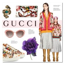 """""""Presenting the Gucci Garden Exclusive Collection: Contest Entry"""" by hellodollface ❤ liked on Polyvore featuring Gucci and gucci"""