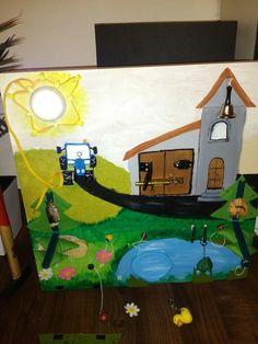 Hrací panel pro děti