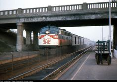 RailPictures.Net Photo: NH 2033 New York, New Haven & Hartford Railroad EMD FL9 at Westwood, Massachusetts by Donald Haskel