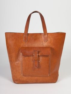 Sturdy Leather Tote | Shop American Apparel