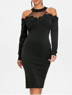 GET $50 NOW | Join RoseGal: Get YOUR $50 NOW!https://m.rosegal.com/bodycon-dresses/applique-mesh-panel-cold-shoulder-bodycon-dress-1924122.html?seid=9778517rg1924122